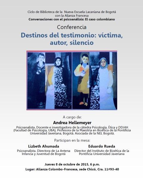 Conferencia Andrea Hellemeyer